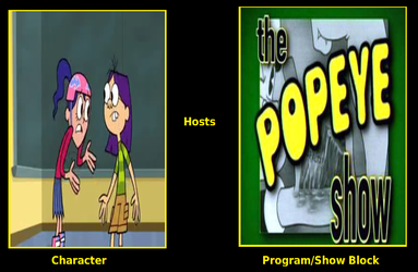 Dana And Maurecia Host The Popeye Show by unicycleboy21