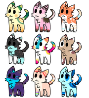 Cat Adopts (0/9) by Cathe-Cat