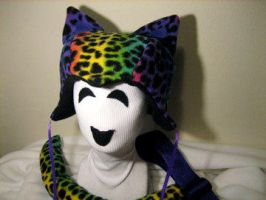 PRIDE KITTY Hat and Tail Set by tacksidermia