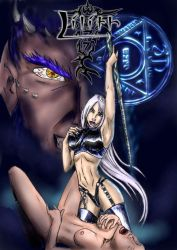 Lilith - Comic cover by Dinoforce