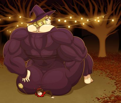 Annie's Be'Witch'ing Booty by Dagwam