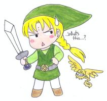 LINK...He came to town...wait... by Terumi-Kantoku