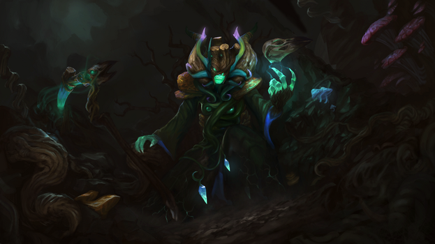 Parasitic Fungi - TI8 Necro set submission by TrungTH