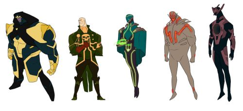 Marvel Villains by anklesnsocks