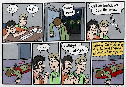 College 3 by 2ndLtHavoc