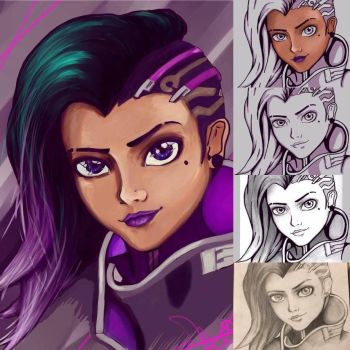 Sombra progress by ShoJen