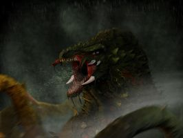 Biollante Redesign by franeres