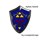 Hylian Shield by exampledesign