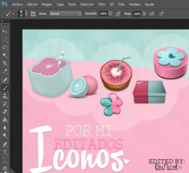 Iconos Blue and Pink Editados por Mi By OriNic by OriNicot