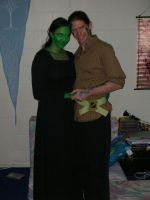 Elphaba and Fiyero by RedCrosseKnight