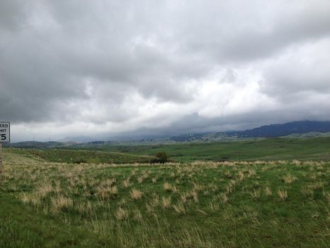 Stormy evening in Wyoming 2 by Chocoppyica