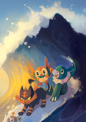 Pokemon Sun and Moon - EMAIL FOR PRINTS by MusicalCombusken