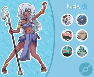Disney Pokemon trainer : Kida by Pavlover