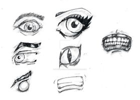 Eyes and Mouths by StevePaulMyers