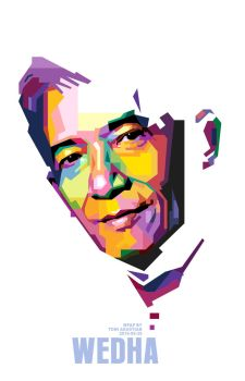 Wedha in WPAP by toniagustian