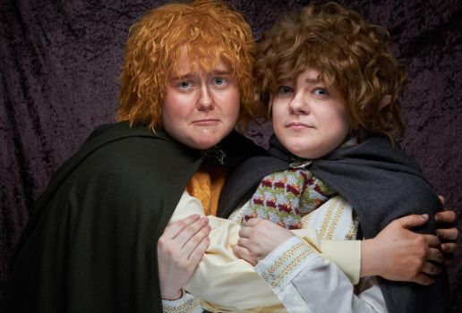 Merry and Pippin by ldynamicphotography