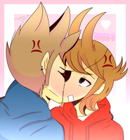 -TomTord- hate and love -Eddsworld- by SunnymoonArt
