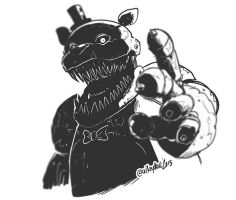 Nightmare Fazbear by SupaCrikeyDave