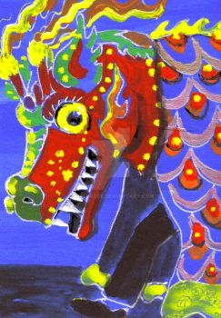 Chinese Dragon by shellrose