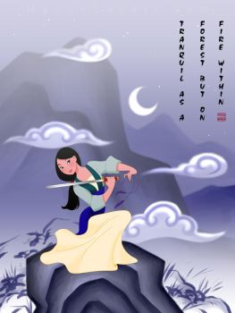Mulan: Strength of One by manony