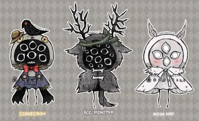 Eyeball Puppet Adopts 4 [CLOSED] by DrawKill