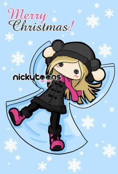 Merry Christmas by NickyToons