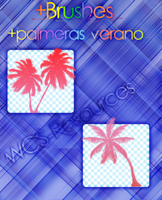 +Brushes |Palmeras Verano| by WCS-Resources