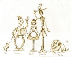 Wizard of Oz--Characters by HanHan