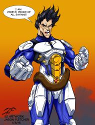 Vegeta by DangerG