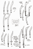 Blade Shapes Concepts by 0laffson