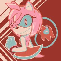 PaletteChallenge69: Amy Rose by HoneyMoon374