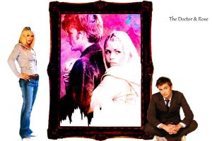 The Tenth Doctor And Rose by whovianmiss