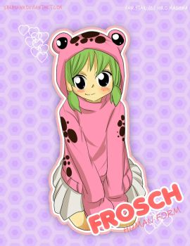 (Fairy Tail Exceed) Frosch :Human Form by xBebiiAnn