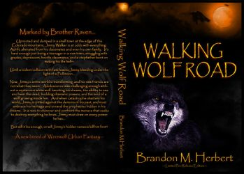Walking Wolf Road - Limited Edition Cover by Neo-Moon
