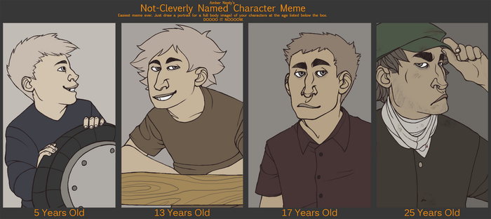 Age meme: Edmund by applesong