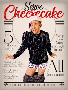 Cheesecake Boys Christmas Underwear by paulypants
