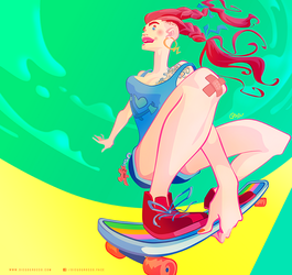 Over the Rainbow by DIEGO GROSSO by ArteX79