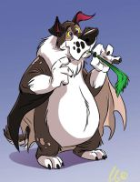 Saint Bernard Bat by SuperStinkWarrior