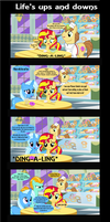 Life's ups and downs by Vector-Brony