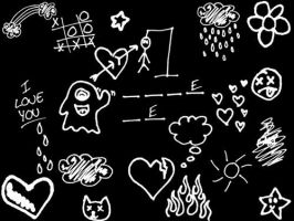 doodles brushes by cold-hearted-world