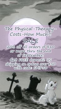 The Physical Therapy Costs How Much Sale by ArtbyMaryC
