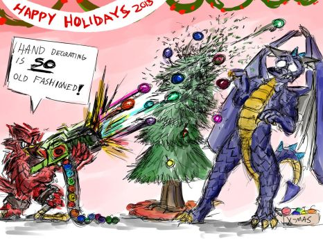 Happy Holidays 2013 by LightningArts