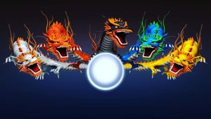 Five dragon by kiayt