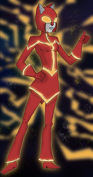 Ultragirl Wildcat-Power Up mode by Mr-M7