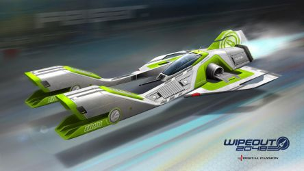 WIPEOUT 2048 Fanart by digital-passion-com