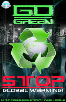 Go Green - Stop Global Warming by knightmultimedia