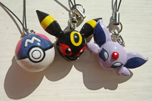 Pokemon Charms by caffwin