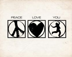 Peace. Love. You. by itsyouforme