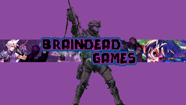 Braindead Games Youtube Channel Art by Voidroid