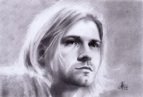 Kurt Cobain by RolfRaven